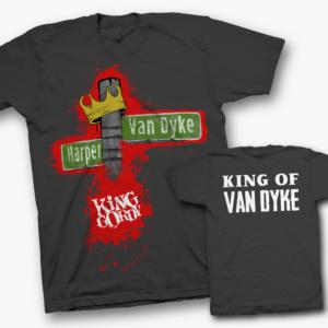 King Gordy Street Sign T-Shirt