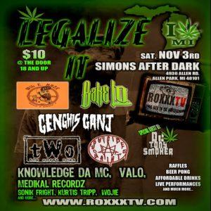 Legalize It Flyer