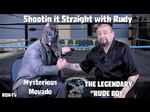 SHOOTIN IT STRAIGHT WITH RUDY – MYSTERIOUS MOVADO (WRESTLING SHOOT INTERVIEW)
