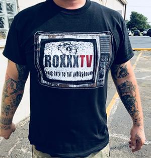 RoxxxTv Logo T-Shirt - front
